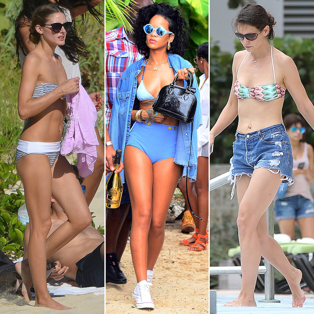 Surf's Up! Our Favorite Celebs Hit the Beach in Style