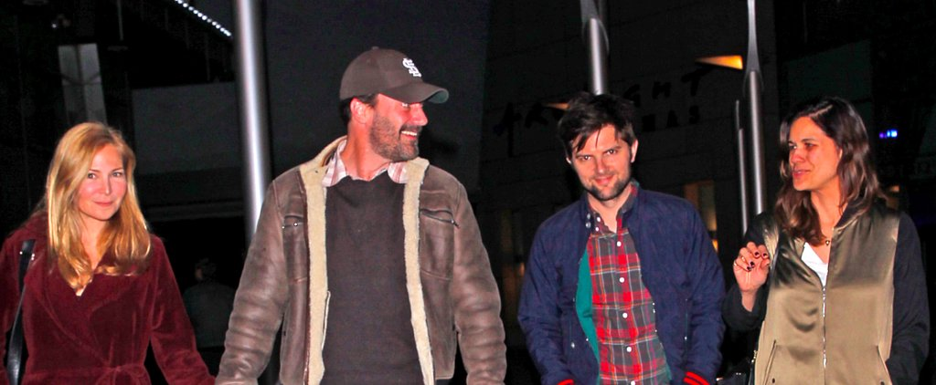 Jon Hamm and Adam Scott Are Friends in Real Life, Too
