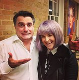 Kelly Osbourne got a fresh new bob for the New Year. Source: Instagram user kellyosbourne