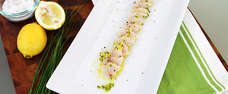 Halibut Crudo Is Easy, Elegant, and Resolution-Friendly