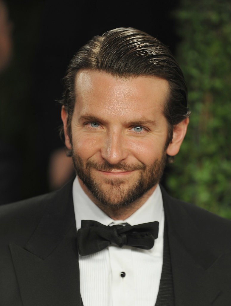 Talk about dapper! Bradley suited up in a sharp tuxedo for the Vanity Fair Oscars afterparty in February 2013.