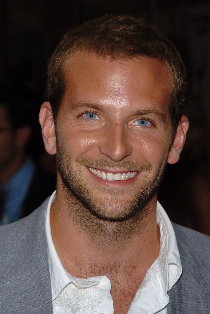 Here's Bradley at the Wedding Crashers premiere in NYC back in July 2005 — did it suddenly get hotter in here?
