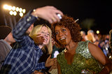 Alfre Woodard took a selfie with a fan.