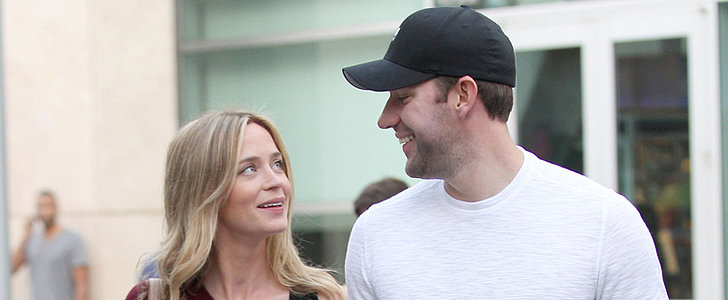 Emily Blunt Glows as Her Baby Bump Grows