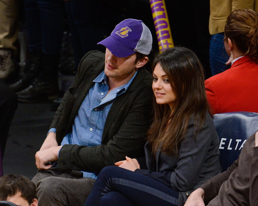 Mila leaned toward Ashton.