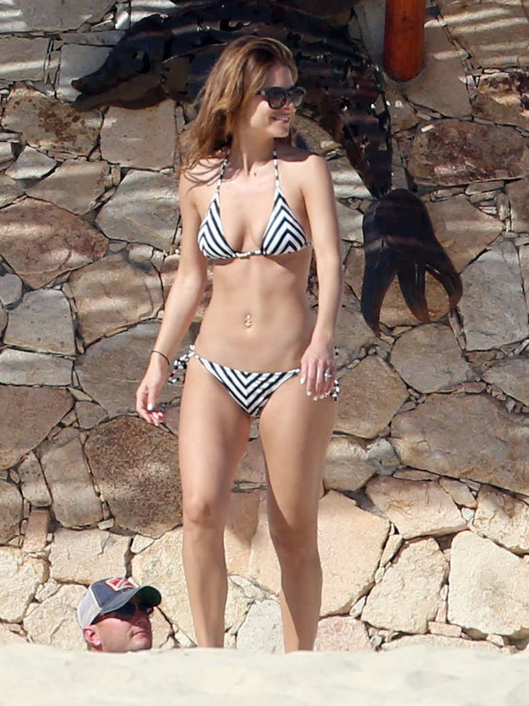 Maria Menounos Is Right on Track With Her New Year's Resolution