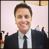 The host with the most Chris Harrison spoke with me at The Bachelor Women Tell All — so handsome!