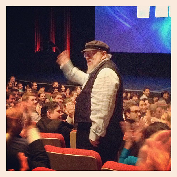 George R.R. Martin is my hero.
