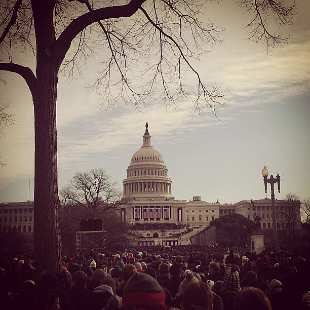 Covering Inauguration Day in DC.