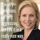 Love this quote from New York Senator Kirsten Gillibrand!