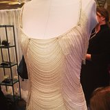 Isn't this beaded gown at the San Francisco Wedding Fair so Downton Abbey?