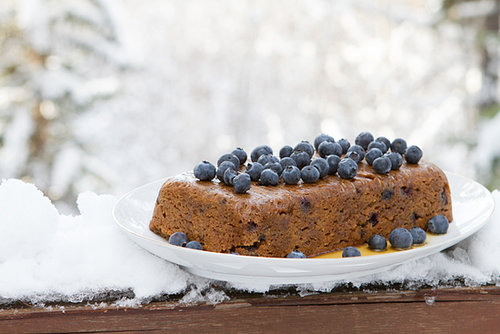 Blueberry Maple Slow Cooker Cake
