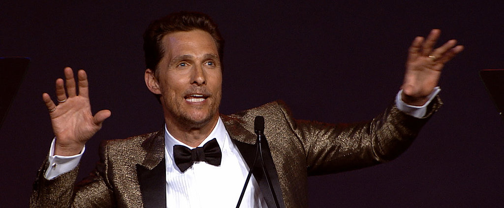 "Matthew McConaughey: ""I Wasn't That Easy to Live With"""