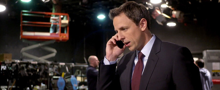 Seth Meyers Is Not Exactly Prepared to Take Over Late Night