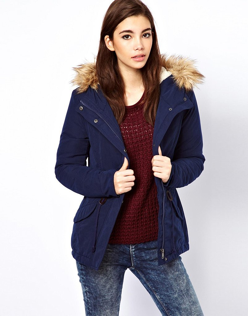 Only Fur Hood Parka ($64)