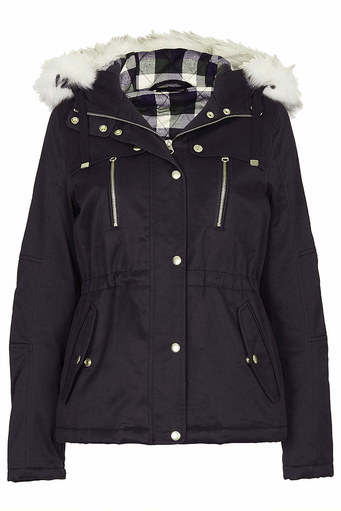 Topshop Short Padded Parka Jacket ($136)