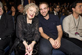The 2012 show, when Robert Pattinson got the best seat in the house.