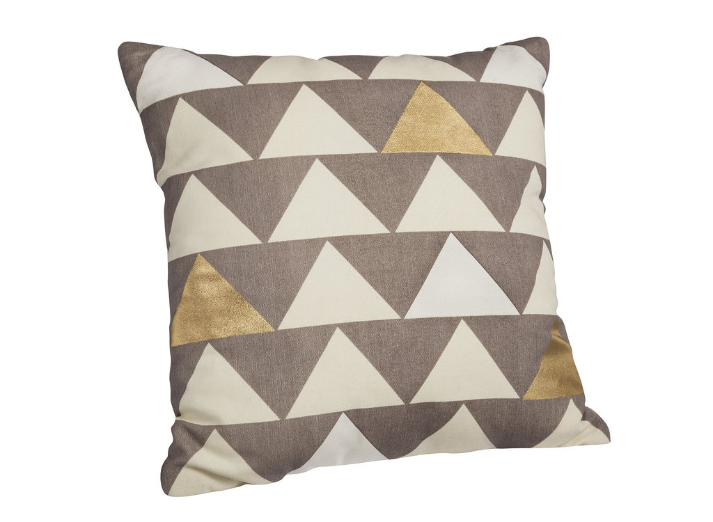 Metallic Accent Pillow ($25)