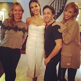 """Jessica Alba thanked her glam squad for """"werking"""" their magic. Source: Instagram user jessicaalba"""