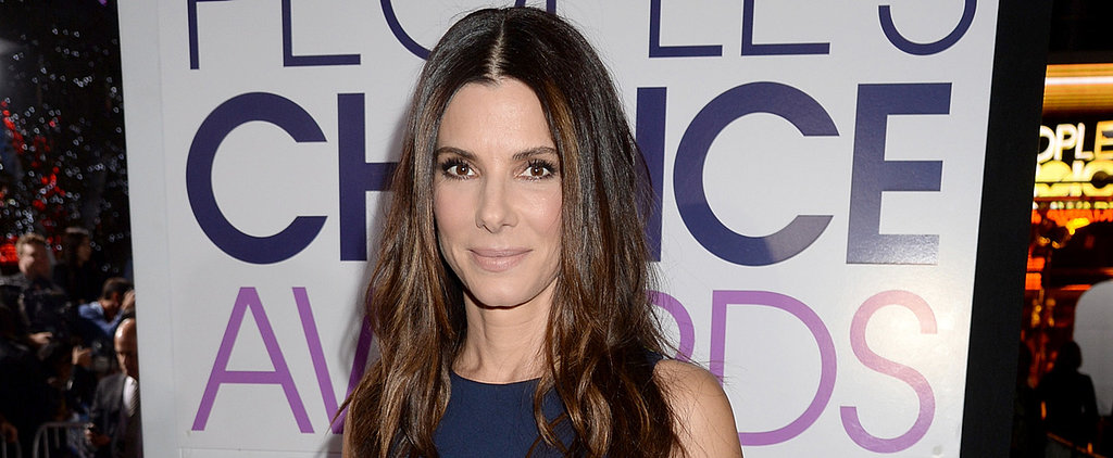 Sandra Bullock Proves Beach Waves Work in the Dead of Winter