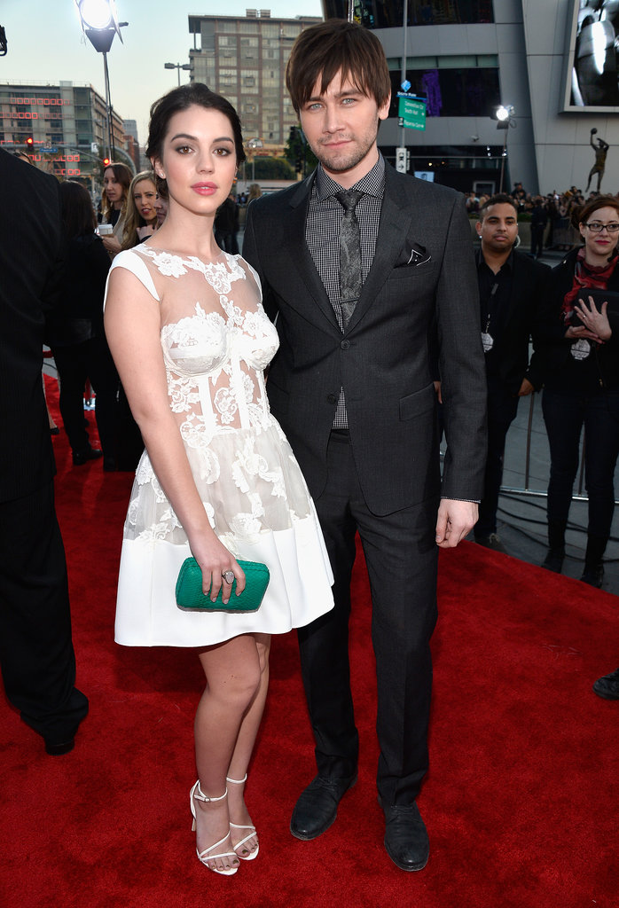 Adelaide Kane and Torrance Coombs