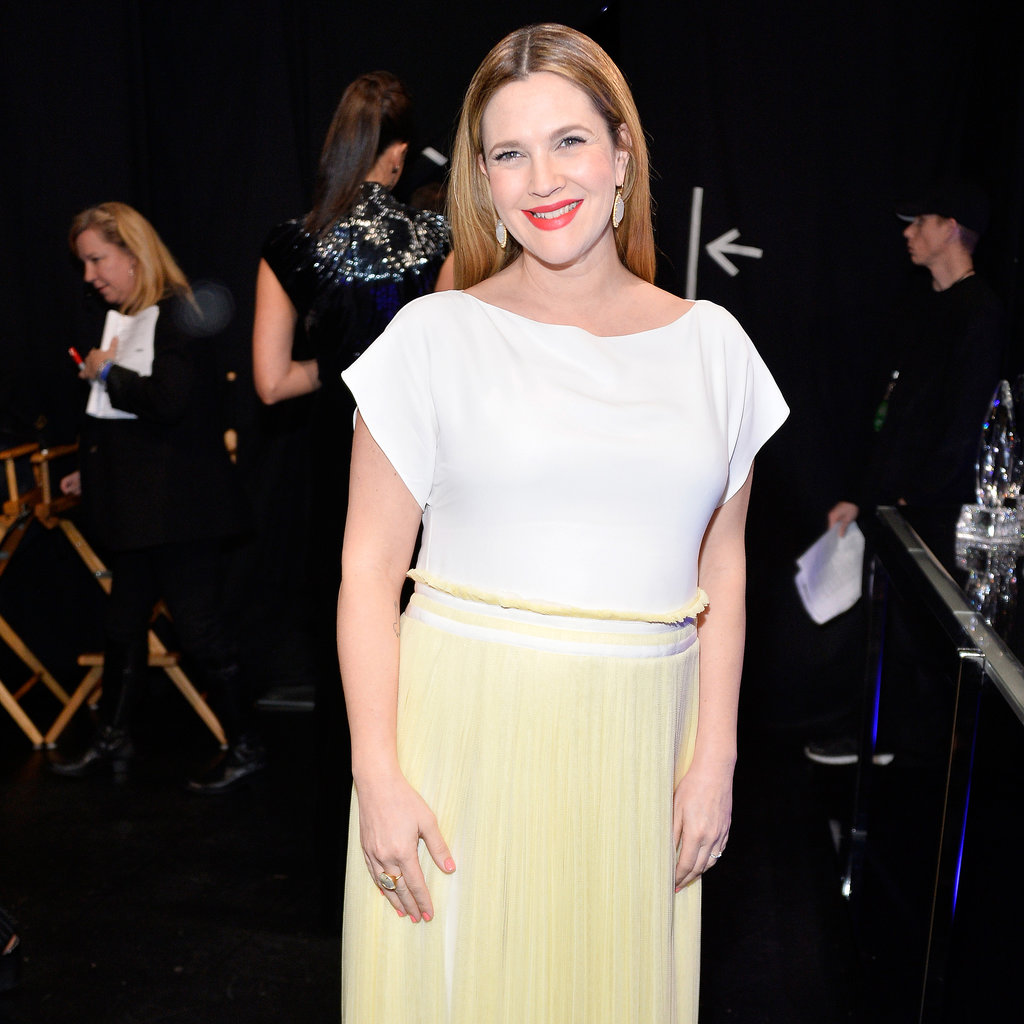 Drew Barrymore at the People's Choice Awards 2014