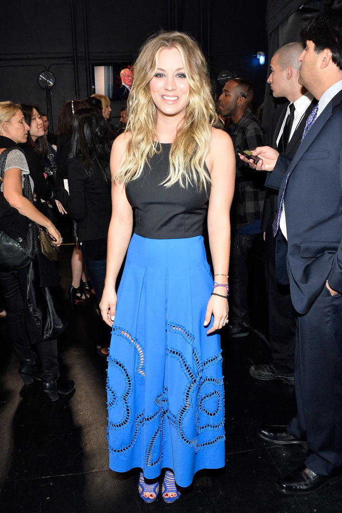 Kaley Cuoco at the People's Choice Awards 2014