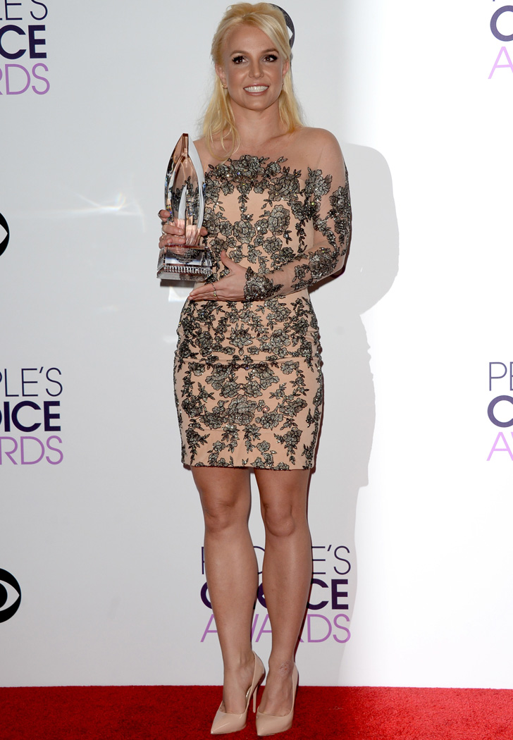 Britney Spears Dress At People 39 S Choice Awards 2014