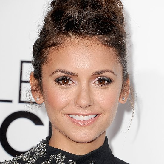 Nina Dobrev's Plaited French Twist Is Too Cool For Words