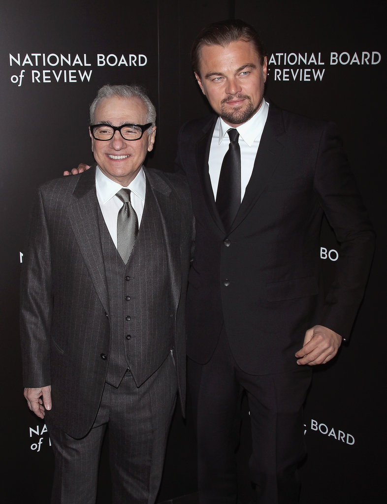 Leonardo DiCaprio and Martin Scorsece posed together.