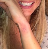 This tiny butterfly was Bar Refaeli's first tatoo! Source: Instagram user barrefaeli