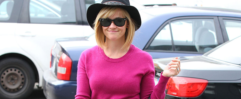 Don't Call Reese Witherspoon's Sweater Pink