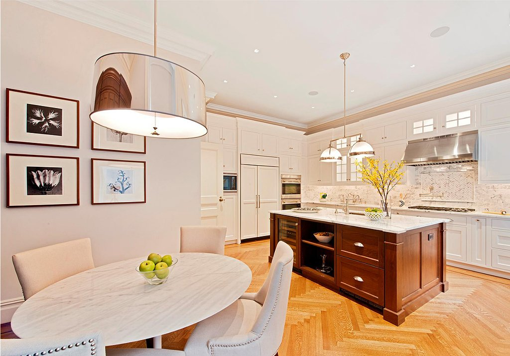 We could get used to eating breakfast in this kitchen every morning. Source: Douglas Elliman Real Estate