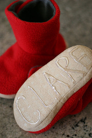 Make Kids' Slippers Slip-Proof