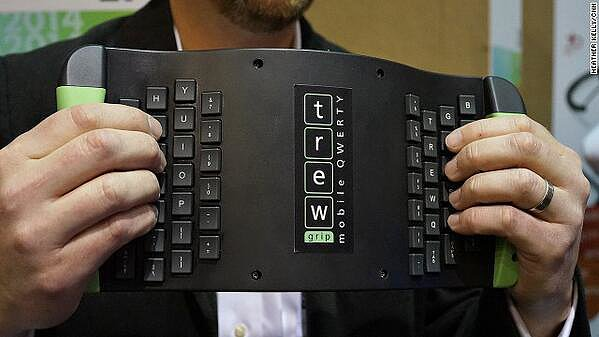 Upside Down QWERTY Keyboard