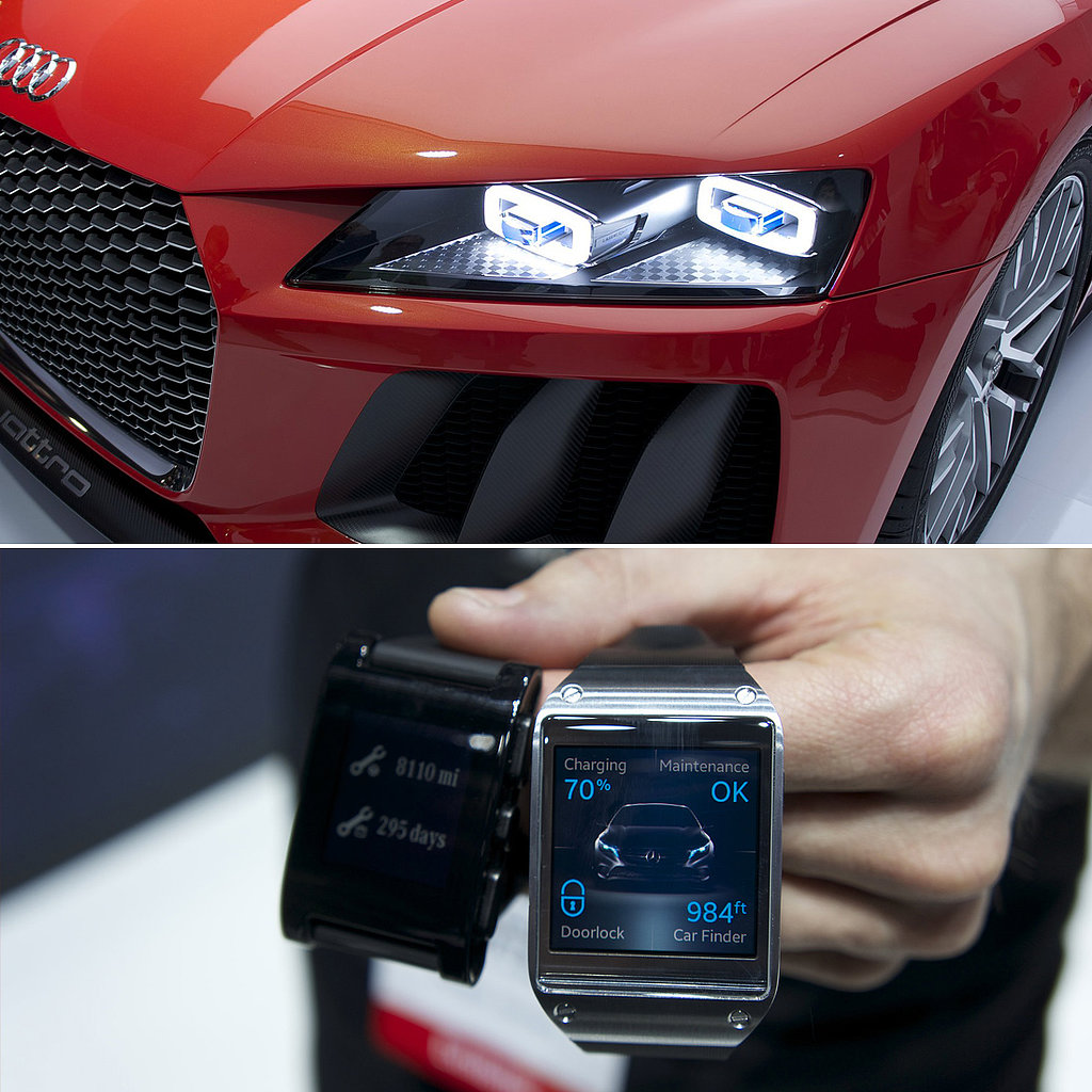 The Future of Auto? Hydrogen, Wearables, and Frickin' Lasers