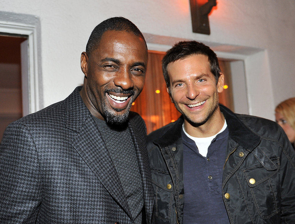 Bradley Cooper and Idris Elba made a handsome pair at W Magazine's celebration of its Best Performances issue at the Chateau Marmont, where nearly every A-lister in LA gathered.