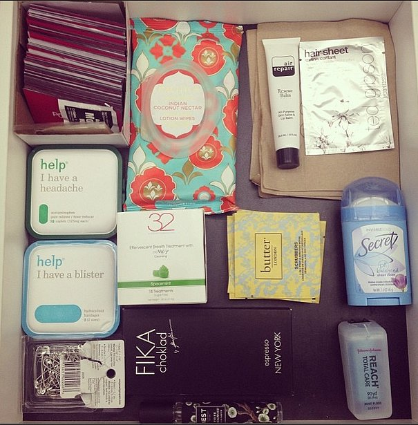 On Instagram, this insider's look at a beauty editor's desk had the most likes this week.