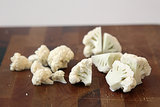 Trim the Cauliflower Florets Into Equal-Sized Pieces