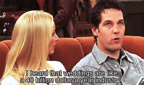 Weddings Were Expensive Pre-Pinterest, Too