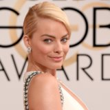 Margot Robbie Hair and Makeup at Golden Globes 2014