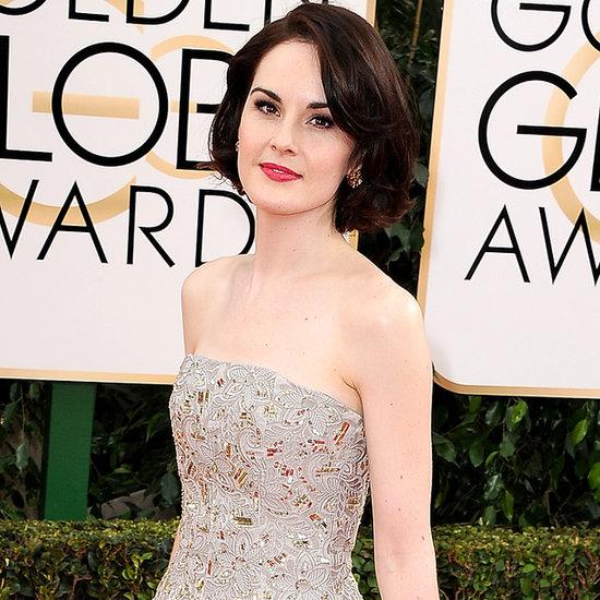 Michelle Dockery 2014 Golden Globe Awards