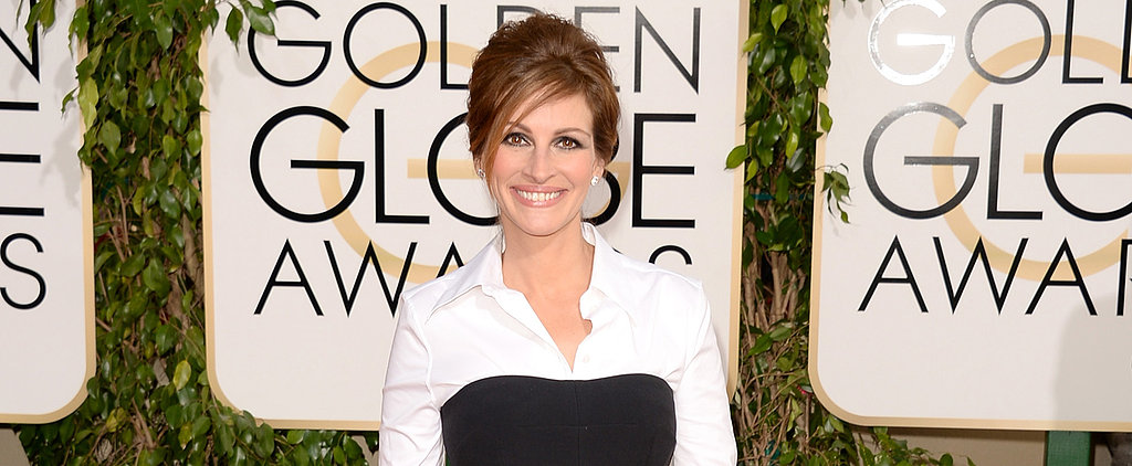 Red Carpet Royalty Julia Roberts Returns to the Globes