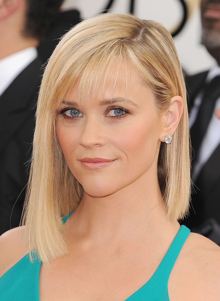reese witherspoon hair and makeup at golden globes 2014