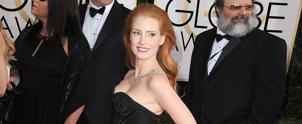 Jessica Chastain Channels Old Hollywood Again — Do You Like?