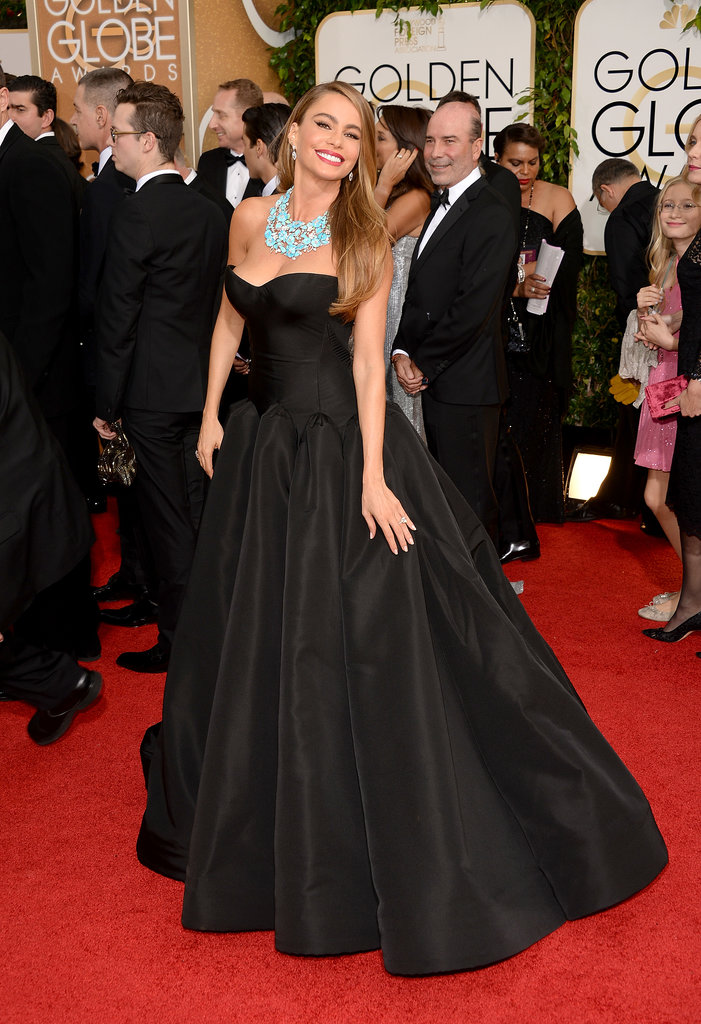 Sofia Vergara at the Golden Globes 2014