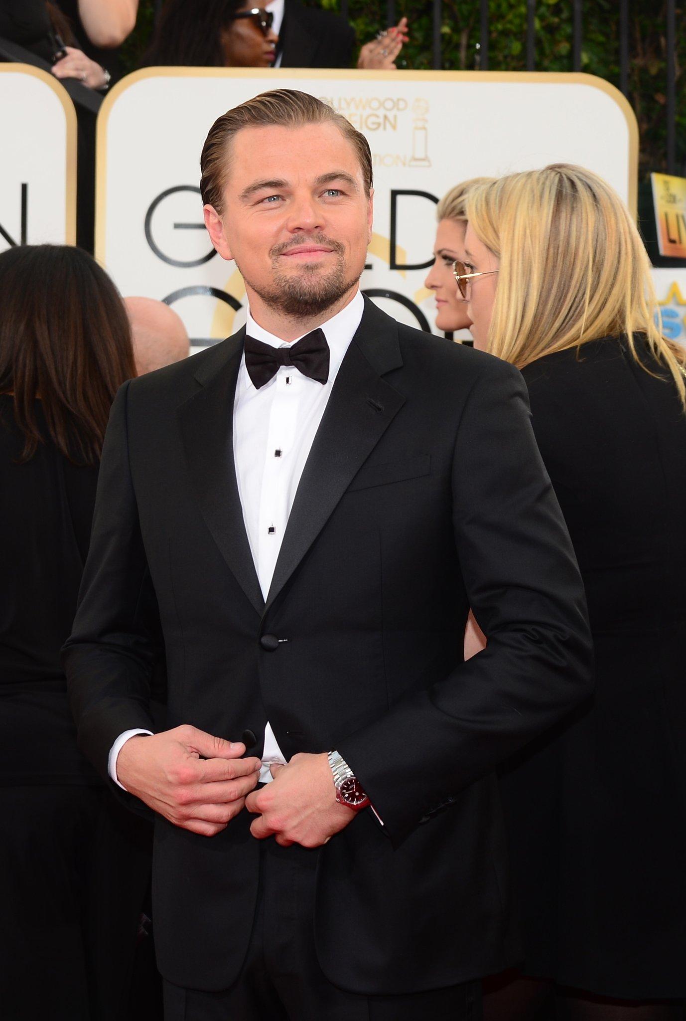 Leonardo DiCaprio was dapper as ever on the red carpet.