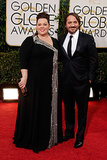 Melissa McCarthy and her husband, Ben Falcone, stepped out for the Golden Globe Awards.