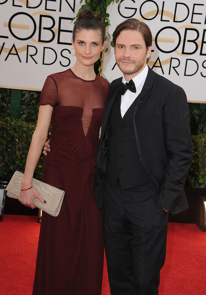 Daniel Bruhl was joined by his girlfriend, Felicitas Rombold.