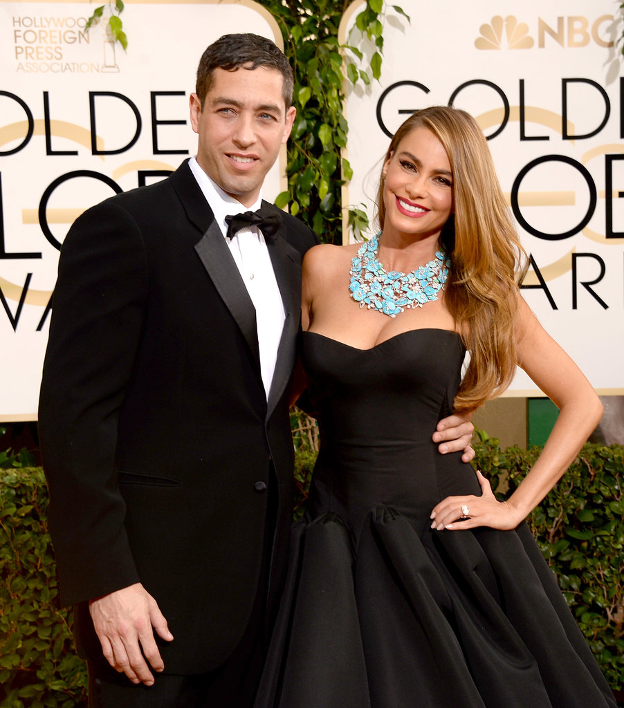 Sofia Vergara hit the red carpet with her fiancé, Nick Loeb.